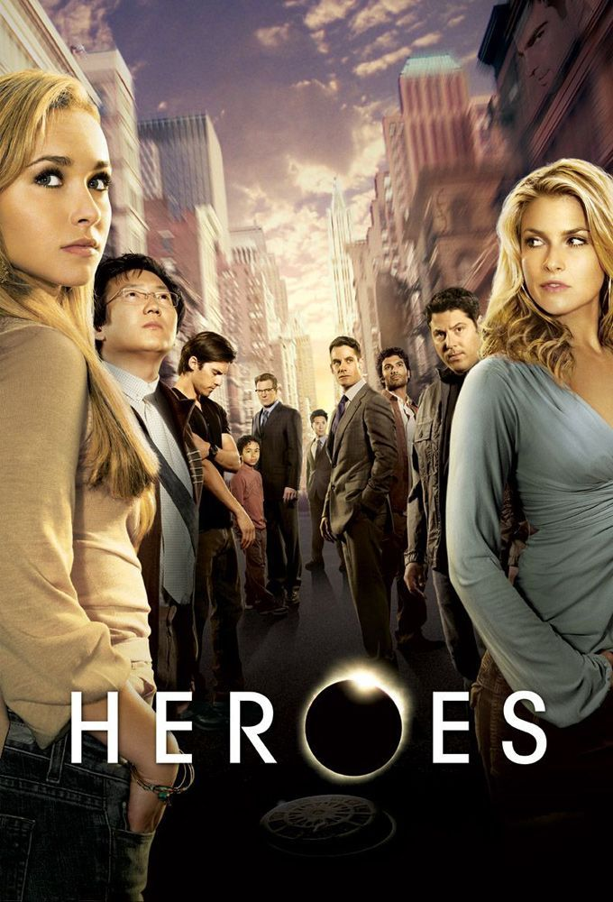 affiche Série heroes