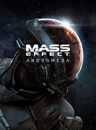 affiche mass effect andromeda