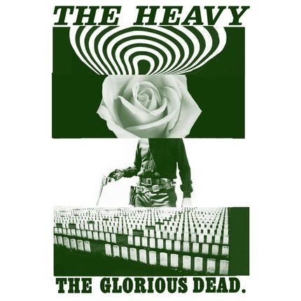 jaquette CD musique the heavy : the glorious dead