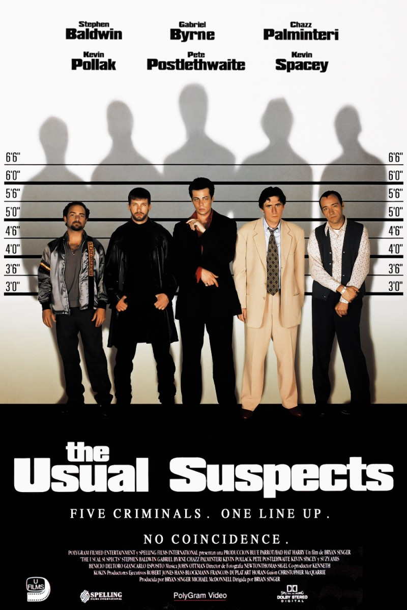 affiche The usual suspects