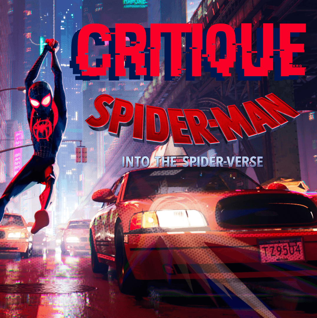 affiche spiderman new generation into the spider verse